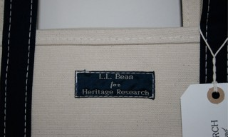 LL BEAN Tote Bag for Heritage Research