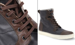 Narrative Leather Toe Cap Boots