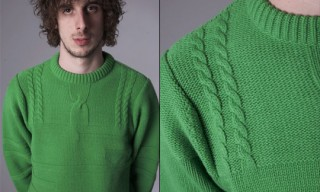 Peter Jensen Half Cable Knit Jumper