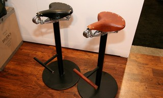 Brooks Spring Saddle Seat Stools