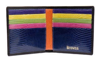 Browns Mainline Multi-colored Wallets