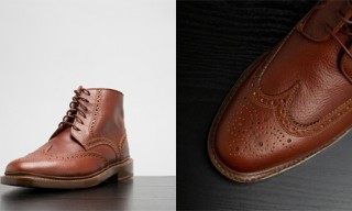 Florsheim for Duckie Brown Brogue Boots