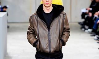Hermes Calfskin Leather Hoodie
