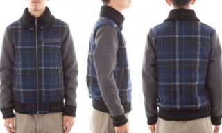 Journal Standard Check Varsity Jacket
