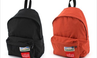 Mt. Rainier Design for Manhattan Portage Backpacks