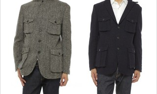 Ships Harris Tweed Safari Jackets
