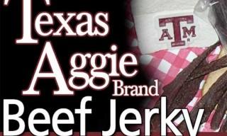 Texas Aggie Brand Beef Jerky