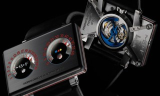 "MB&F And Alain Silberstein HM2.2 ""Black Box"" Watch"