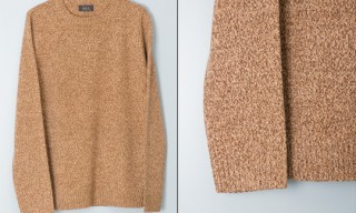 APC Flecked Crewneck Sweater