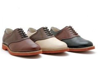 Bass Burlington Saddle Shoes