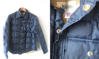 Crescent Down Works Down Shirt/Jacket