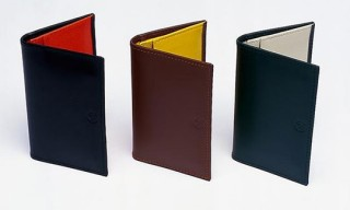 Ettinger for Monocle Foldover Card Case