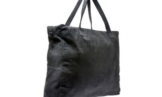 H By Harris Nubuck Leather Shopper Bag