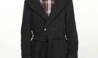 Mjolk for Lens hooded Pea Coat
