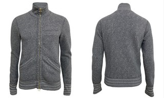 Wings + Horns for Nom de Guerre Grey Jacket