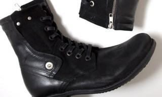 OAK Black Motorcycle Boots