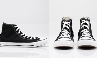 Converse All Star Hi Top Sneakers in Black