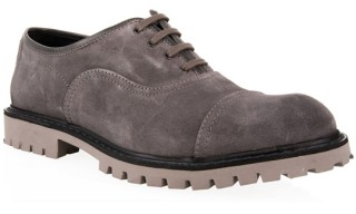 B-Store Grey Suede Shoe