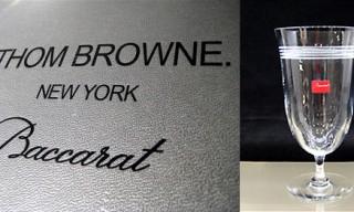 Thom Browne for Baccarat Crystal Stemware Set