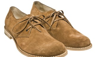 Bottega Veneta Suede Derbies