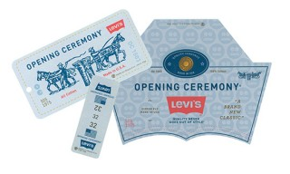 Levi's Cords for Opening Ceremony