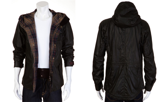 Barbour Hooded Wax Jacket