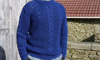 Carolyn Massey Cable Knit Jumper