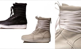Dior Homme Hi-Top Sneakers for Spring 2010