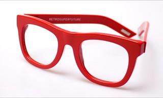 SUPER Ciccio Eyeglasses in Red
