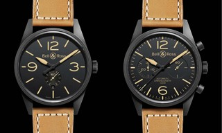 Bell & Ross Vintage BR Carbon Series Watches
