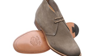 Church's Grey Suede Desert Boots