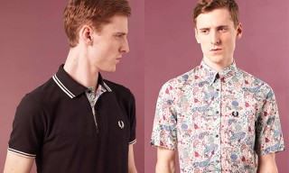 "Fred Perry for Liberty ""Blank Canvas"" Collection for Spring 2010"