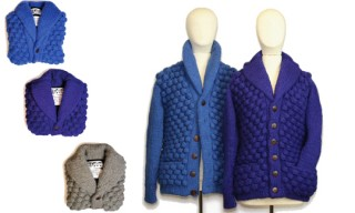 The Inoue Brothers Autumn/Winter 2010 Chunky Bubble Cardigan