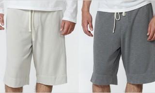 James Perse Vintage Fleece Sweat Shorts