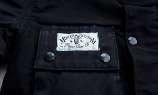 Mister Freedom Black Mulholland Master Jacket