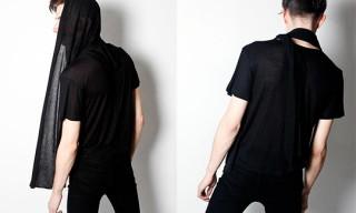 Rochambeau Black Wrap Jersey T-Shirt