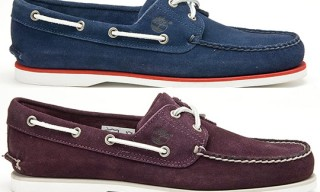 Timberland for Saks Fifth Avenue Boat Shoe