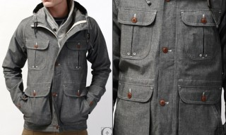 Wings + Horns Chambray Parka