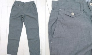 Post Overalls Chambray Trousers