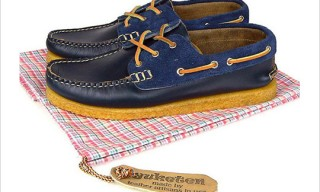 Yuketen Athletic Sole Boat Shoes