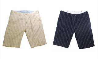 45rpm Striped Chino Shorts