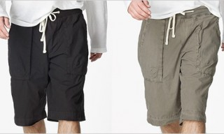 James Perse Contrast Waist Easy Shorts