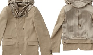 Les Hommes Hood Jacket