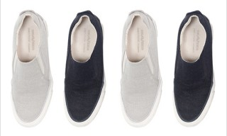 SeaVees for James Perse Linen Slip On Shoes