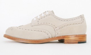Tricker's for Nitty Gritty Suede Brogues