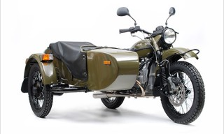 Ural Patrol T 2WD Motorcycle with Sidecar