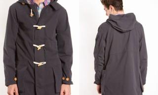 Velour 'Charlie' Duffle Coat