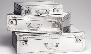 Dunhill Brushed Aluminum Luggage