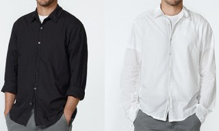 James Perse Classic Fit Shirts for Pre-Autumn 2010