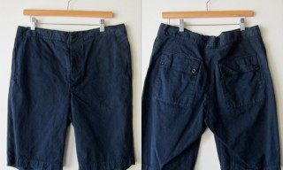 MHL Navy Work Shorts